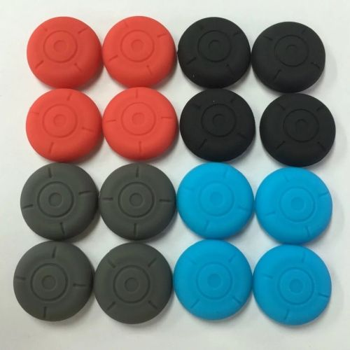 2 housses silicones de protection joystick manette Nintendo Switch
