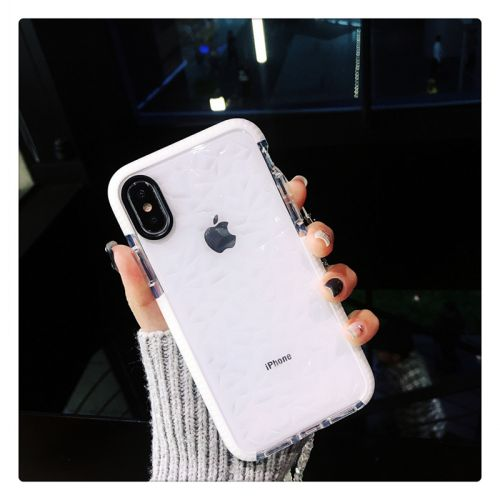 Coque silicone pour iPhone X - Crystal style