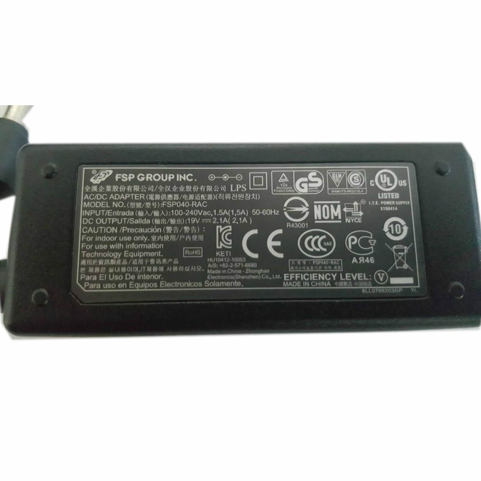 FSP ADP-40PH AB FSP040-RAB chargeur 19V 2.1A 40W alimentation originale pour GREATWALL A91 A92 T91 séries