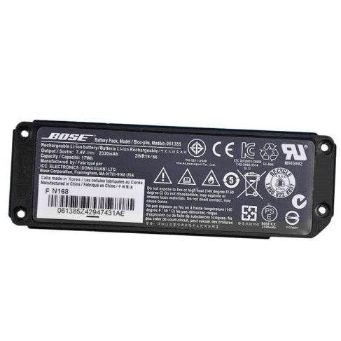 Batterie originale Bose 061384, 061385 7.4V 2330mAh,17Wh pour Bose Bluetooth wireless speaker séries