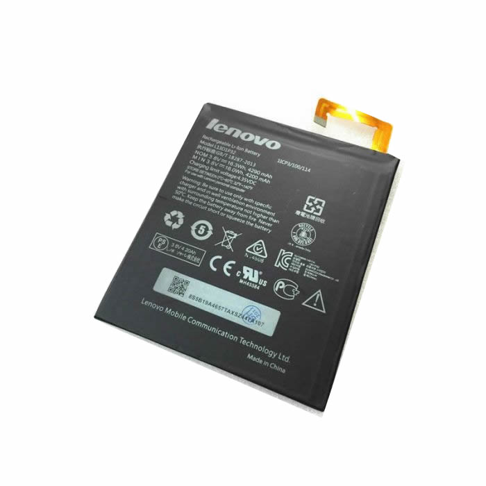 Batterie originale Lenovo L13D1P32 3.8V 4290mAh, 16.3Wh pour ordinateur portable Lenovo Aspire A5500 Tablet PC, A5500-HV Tablet PC séries