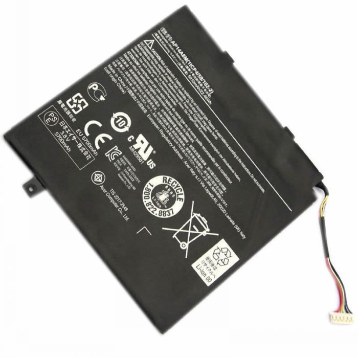 Acer AP14A8M batterie remplacement 22Wh pour tablette Acer Aspire Switch 10 SW5-011 SW5-012 séries