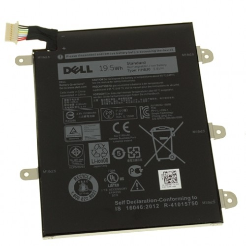 Batterie Dell HH8J0 WXR8J 19.5WH 3.8V pour tablet Dell Venue 8 Pro 5855