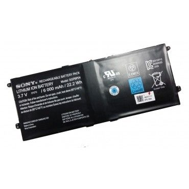 Batterie originale Sony SGPBP03 3.7V 6000mAh 22.2Wh pour ordinateur portable Sony Xperia Tablet S Z séries
