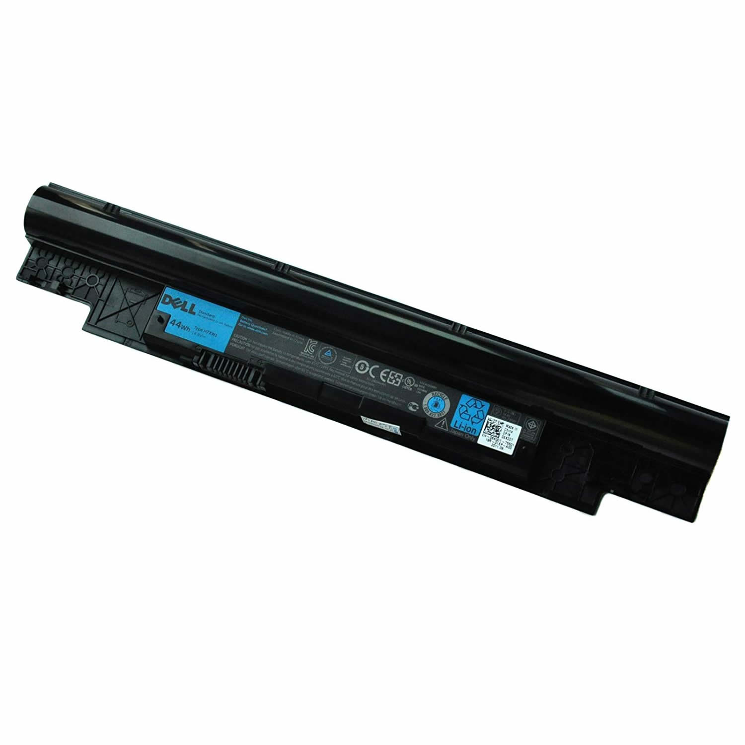 Batterie originale Dell H7XW1 JD41Y 14.8V 44Wh pour ordinateur portable Dell Vostro V131 V131R V131D séries