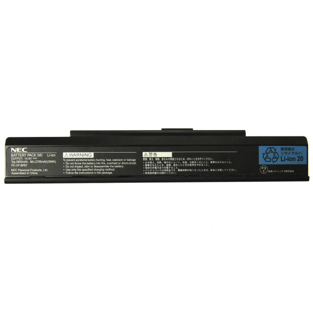 Batterie originale NEC PC-VP-BP67 PC-VP-BP68 14.4V 2700mAh pour ordinateur portable LaVie MiiPC-LM350VG6R séries