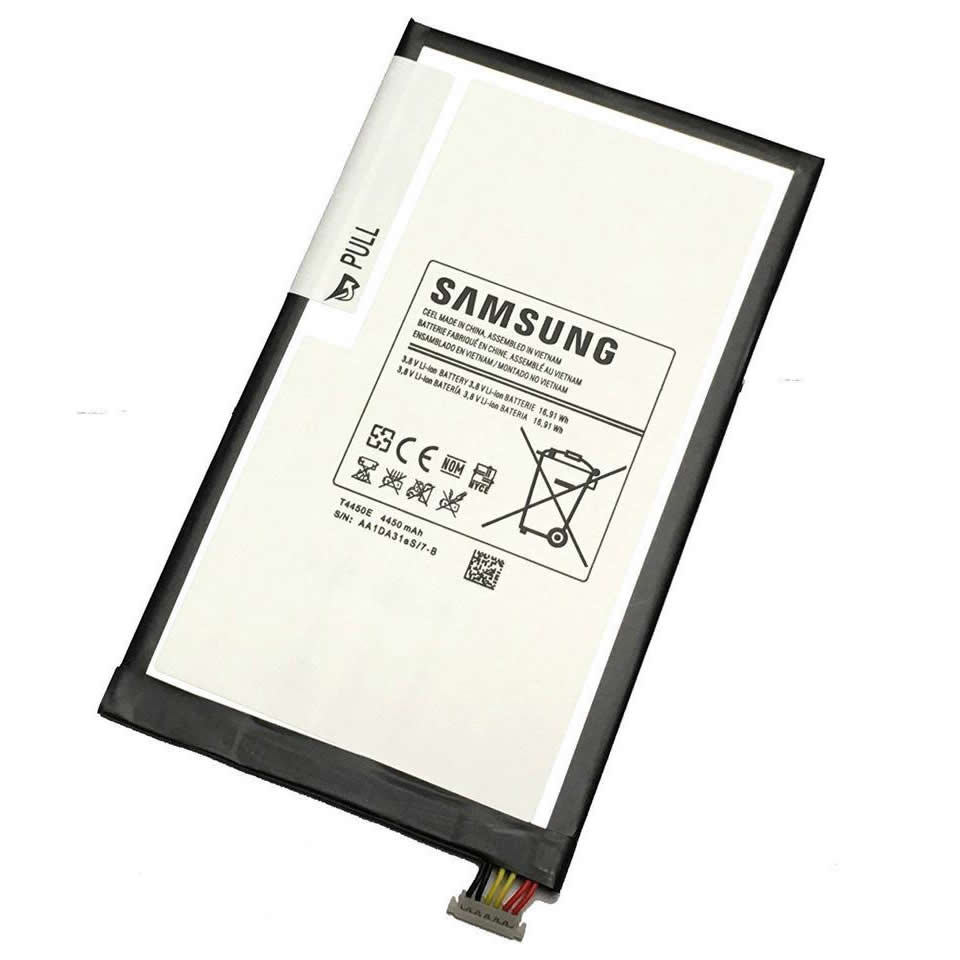 Batterie originale Samsung T4450E TLaD628As/9-B 3.8V 4450mAh 16.91Wh pour ordinateur portable Samsung Galaxy Tab 3 8.0 T310 T311 T315 tablette séries