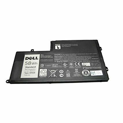 Batterie originale Dell 0PD19 DFVYN 7.4V 58Wh pour ordinateur portable Dell INS14MD-1328R, INS14MD-1328S séries