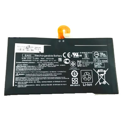 HP EA02 799578-005 799499-2C1 batterie originale 3.8V 5530mAh pour ordinateur portable HP Pro Tablet 608 G1 H9X44EA, Pro Tablet 608 G1 H9X68EA séries