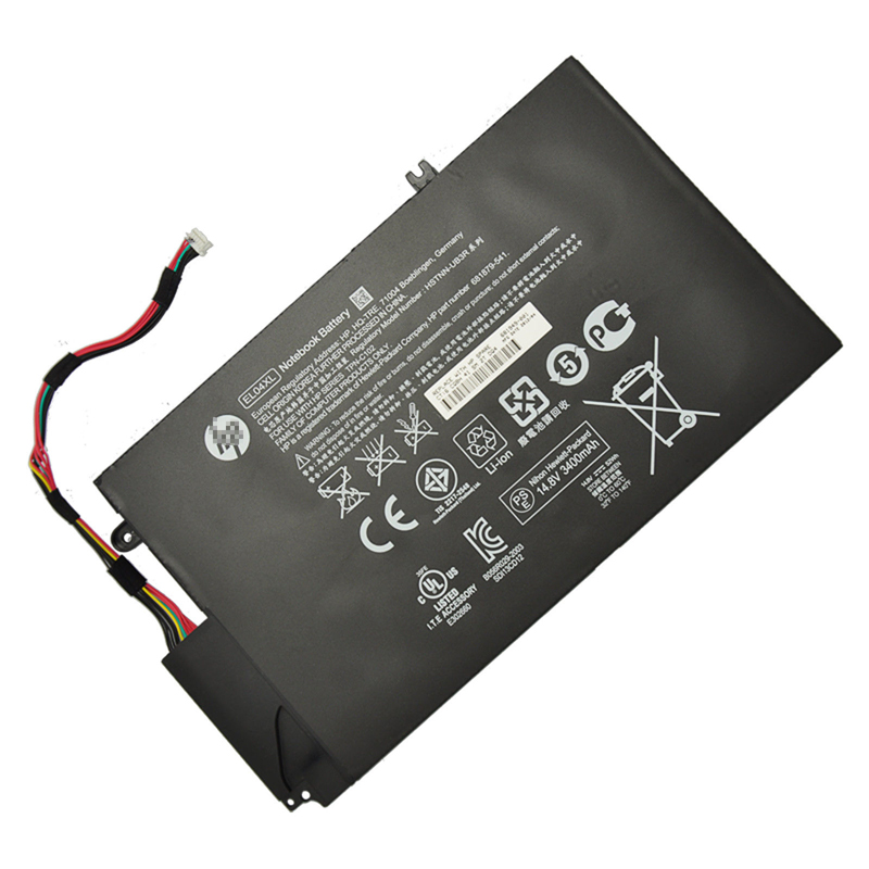 HP EL04 EL04XL 681879-121 batterie originale 14.8V 3100mAh, 52Wh pour ordinateur portable HP Envy 4-1055TU, Envy 4-1216TU séries