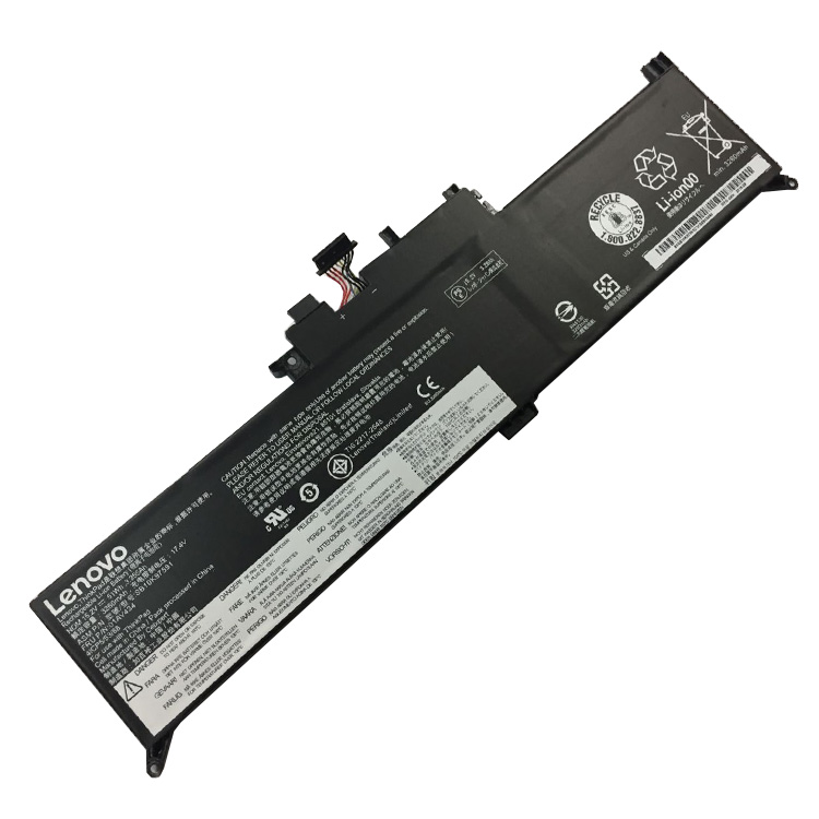 Lenovo 01AV434 SB10K97591 batterie originale 15.2V 3355mAh, 51Wh pour ordinateur portable Lenovo ThinkPad New S1 2018(20LK0000CD), ThinkPad New S1 2018 séries