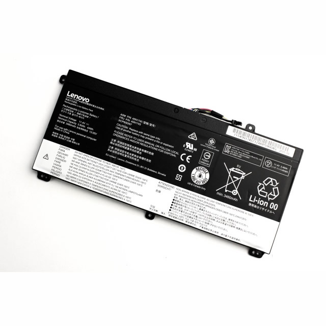 Lenovo 45N1742 45N1741 SB10K12721 batterie originale 11.4V 3900mAh, 44Wh pour ordinateur portable Lenovo ThinkPad P50s(20FLA005CD), ThinkPad T550(20CJ-J001SAU) séries