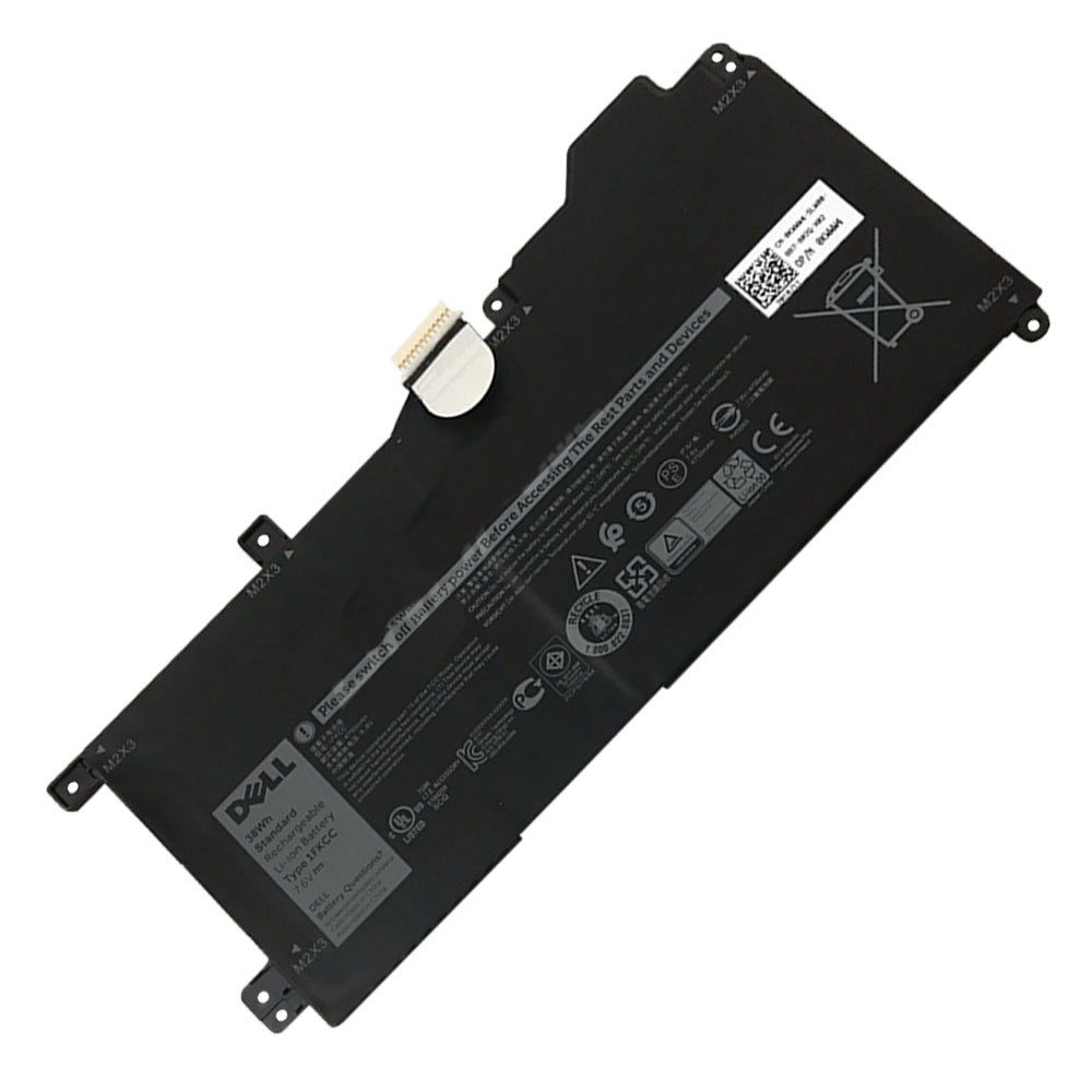 Batterie originale Dell 1FKCC 09NTKM 7.6V 4750mAh, 38Wh pour ordinateur portable Dell 09NTKM, 1FKCC séries
