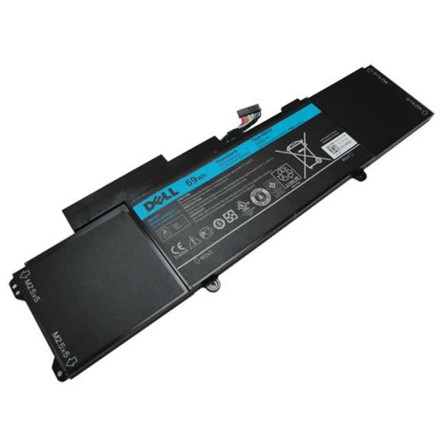 Batterie originale Dell C1JKH 4RXFK FFK56 14.8V 4600mAh, 69Wh pour ordinateur portable Dell XPS14 LX421, 421x-1046 séries