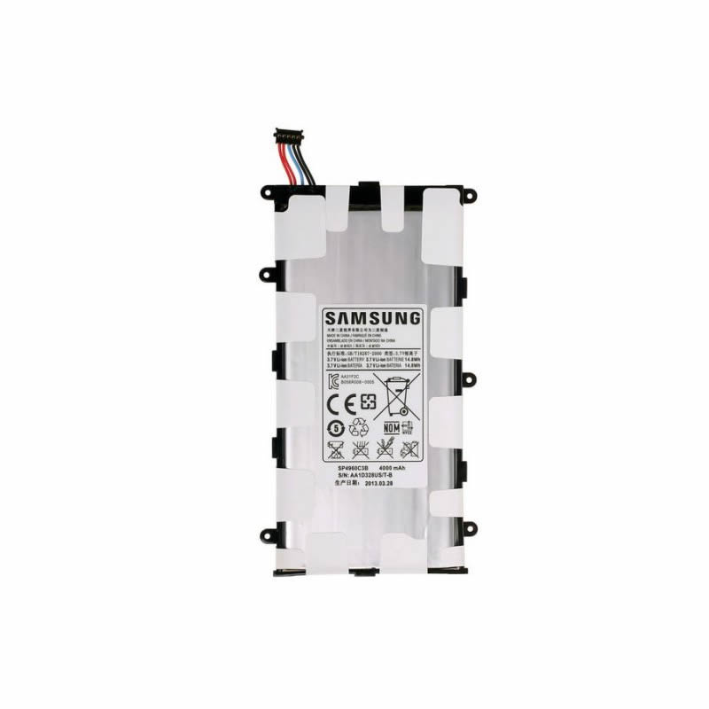 Batterie originale Samsung SP4960C3A SP4960C3B 3.7V 4000mAh, 14.8Wh pour ordinateur portable Samsung Galaxy Tab 7.0 Plus, Galaxy TAB P3100 séries