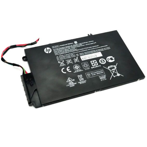 Batterie originale HP 681879-1C1 681949-001 14.8V 3400mAh, 52Wh pour ordinateur portable HP ENVY 4-1000 EL04XL HSTNN-IB3R 4-1007TX séries