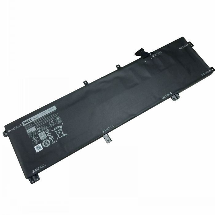 Batterie originale Dell 245RR H76MV 91Wh pour ordinateur portable Dell Precision M3800 XPS 15 9530 séries