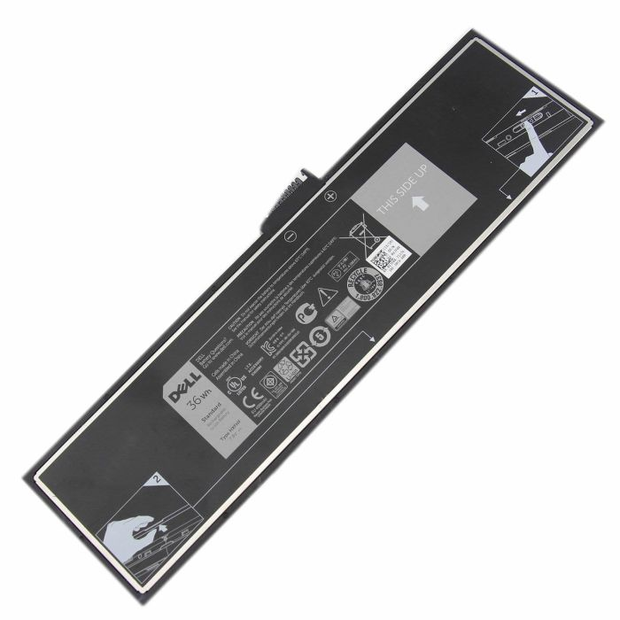Batterie originale Dell HXFHF VJF0X V11P7130 8300mAh, 96Wh pour ordinateur portable Dell Venue 11 Pro (7130) séries