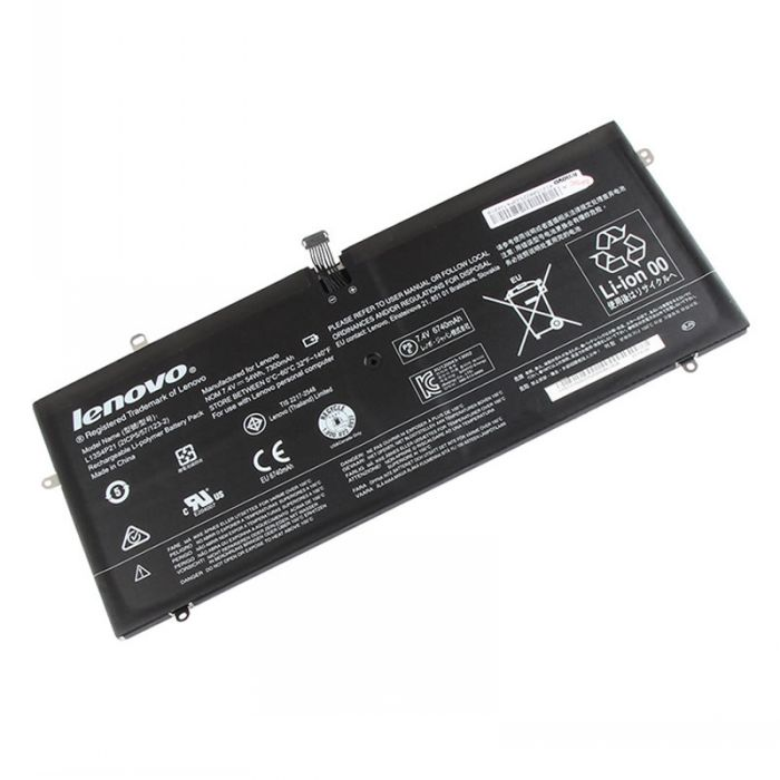 Batterie originale Lenovo 2ICP557123-2, L12M4P21, L13S4P21 7.4V 7400mAh pour ordinateur portable Lenovo Yoga 2 Pro 13 Y50-70AS-ISE séries