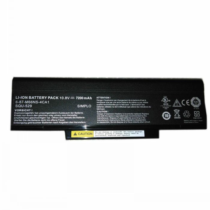 Msi SQU-529 CBPIL48 BTY-M66 M740BAT-6 batterie originale 2260mAh, 16Wh pour ordinateur portable Msi CR400 CR400X séries