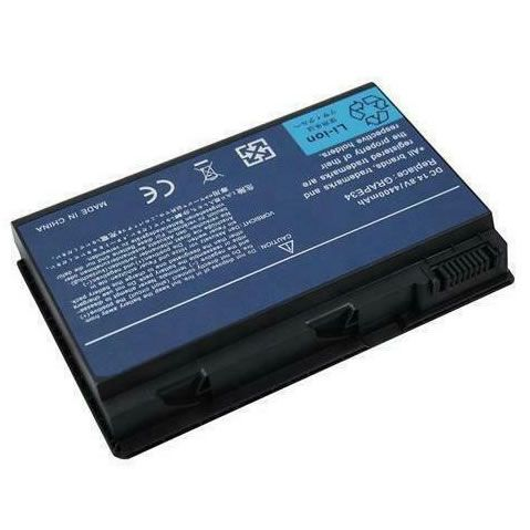 Acer GRAPE34, TM00742, LC.BTP00.006 batterie remplacement 5200mAh pour ordinateur portable Acer TravelMate 5220 5620 5520 7520 7720, Extensa 4620 5620 séries