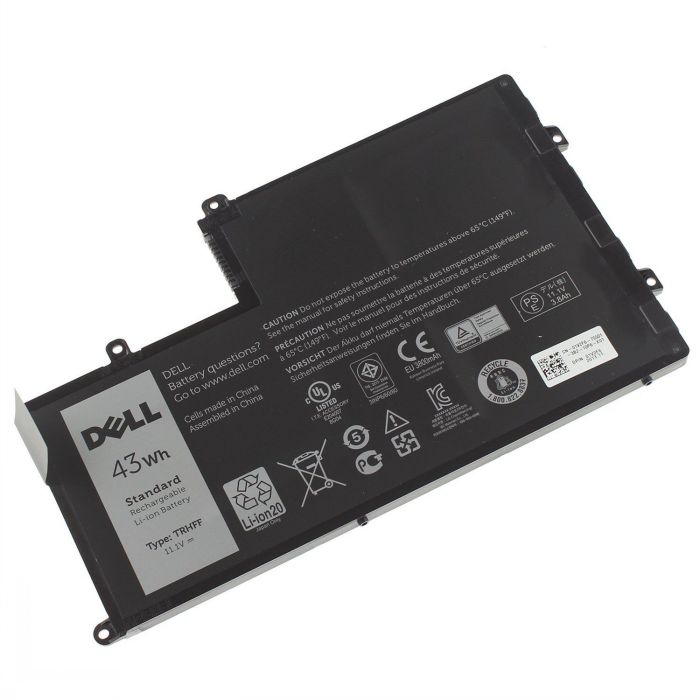 Dell TRHFF 1V2F6 DL011307-PRR13G01 batterie originale 43Wh pour ordinateur portable Dell INS14MD-1328R, INS14MD-1328S séries