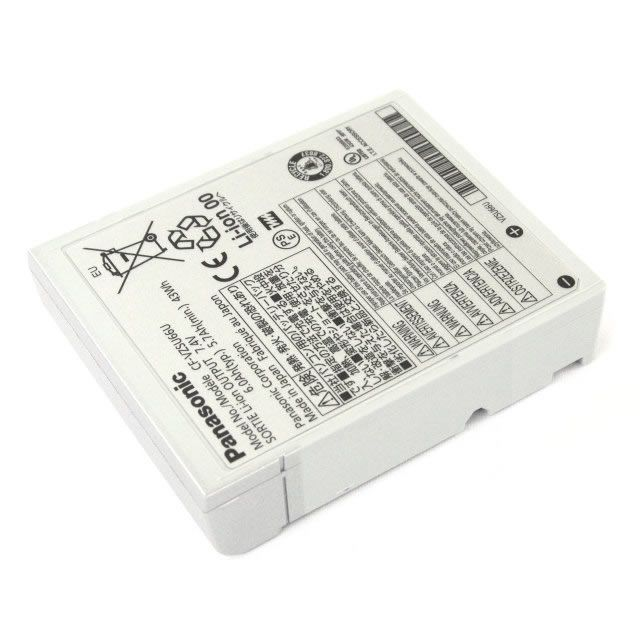 Batterie originale Panasonic CF-VZSU66U 7.4V 43Wh pour ordinateur portable Panasonic CF-C1AT01GGE, Toughbook CF-C1 séries