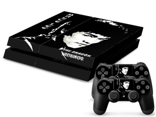 Skin sticker PS4 - Dragon Jeetkunedo