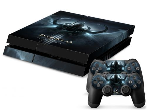 Skin sticker PS4 - Diablo