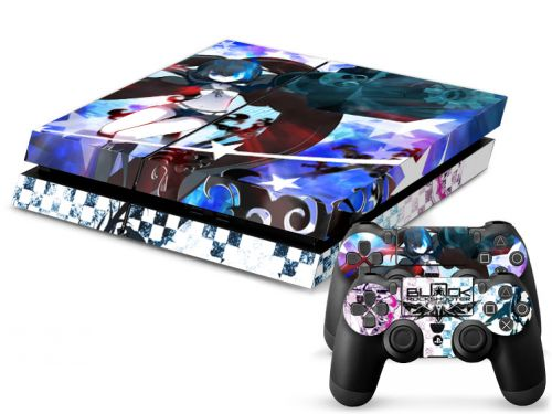 Skin sticker PS4 - Black Rockshooter
