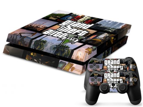 Skin sticker PS4 - Grand theft auto V