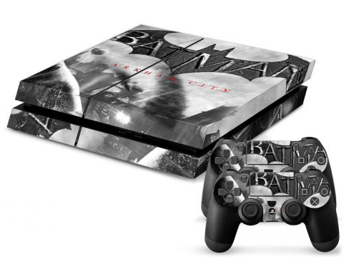 Skin sticker PS4 - Arkham city