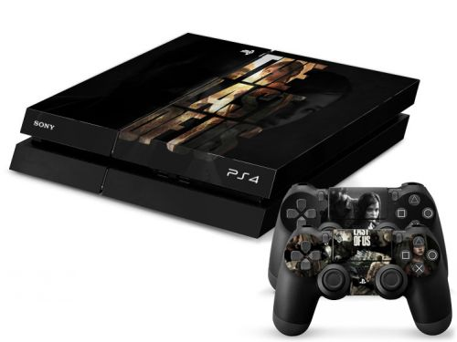 Skin PS4 - Last of Us