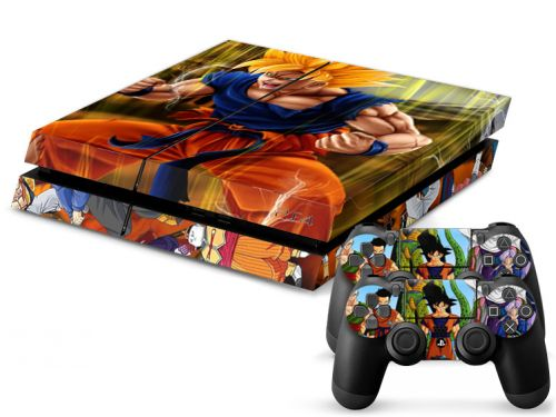 Skins stickers PS4 pas cher - Dragon Z