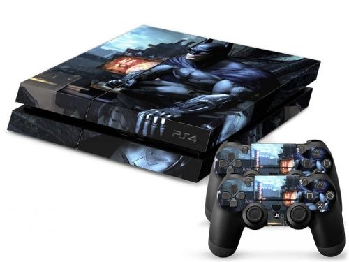 Autocollant skin PS4 - Batman Arkham City
