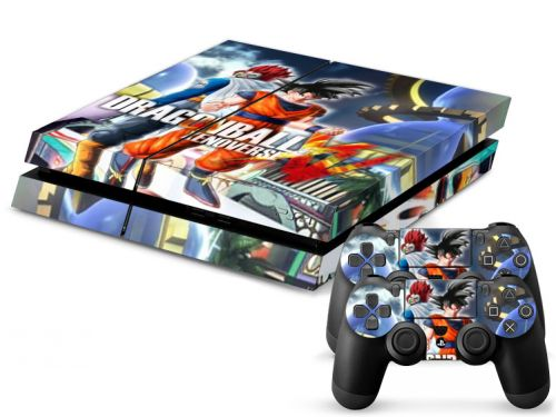 Autocollant skin PS4 - Dragon ball