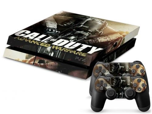 Autocollant skin PS4 pas cher - Call of Duty Advanced Warfare