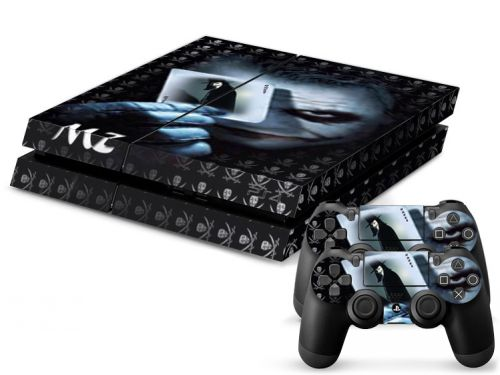 Autocollant skin PS4 pas cher - The Dark Knight