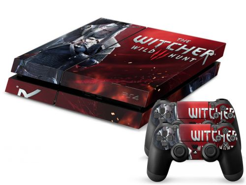 Skins stickers PS4 pas cher - The Witcher 3: Wild Hunt