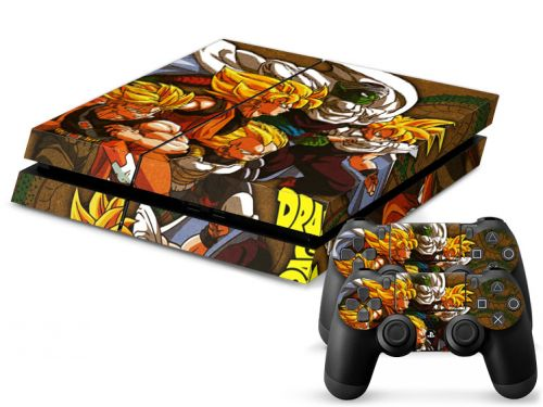 Skin autocollant PS4 pas cher - Dragon ball Z