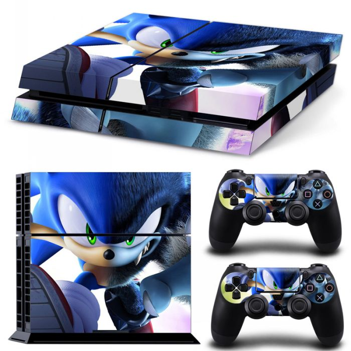 Sticker PS4 - Sonic