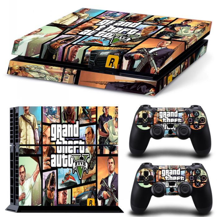 Skins stickers PS4 - Grand theft auto Five
