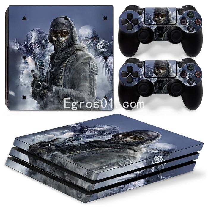 Skin PS4 Pro - Call of Duty MW3 02