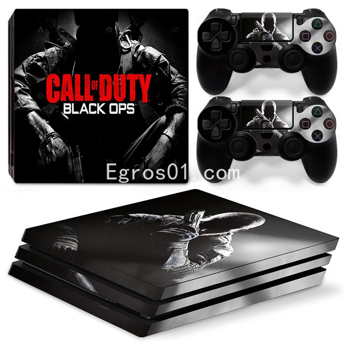 Skin PS4 Pro - Call of Duty MW3 Black OPS