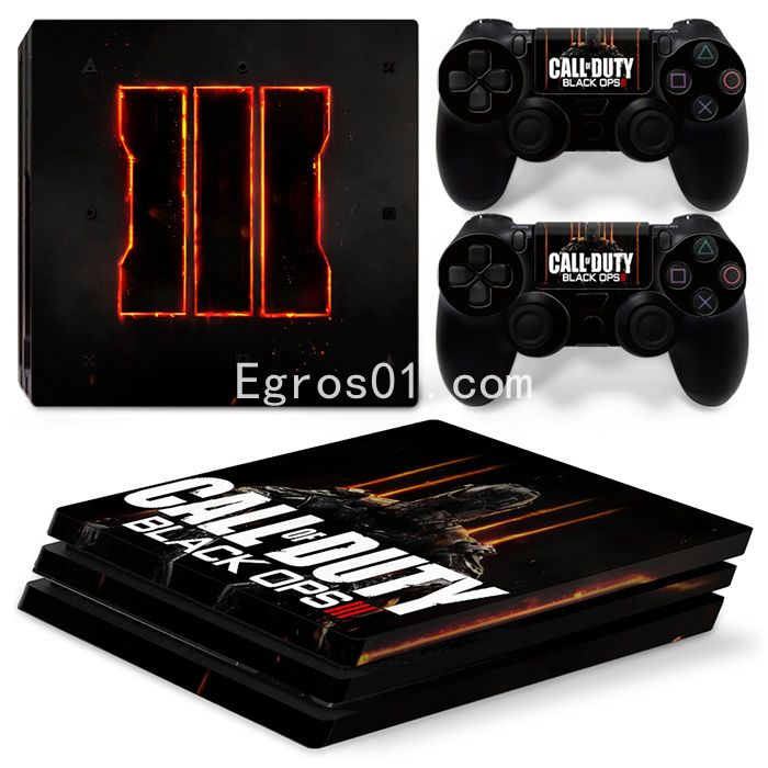 Skin PS4 Pro - Call of Duty MW3 Black OPS III