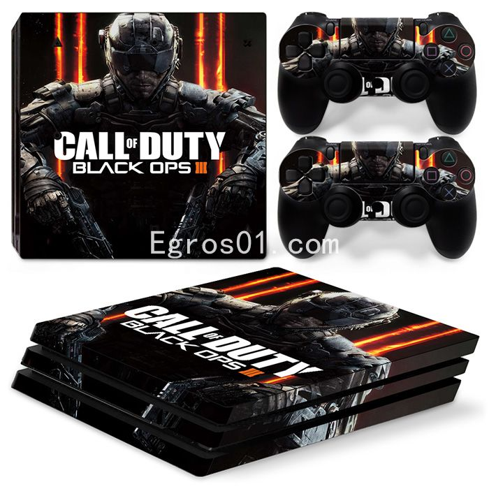 Skin PS4 Pro - Call of Duty MW3 Black OPS III 02