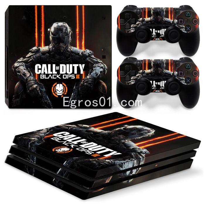 Skin PS4 Pro - Call of Duty MW3 Black OPS III 03