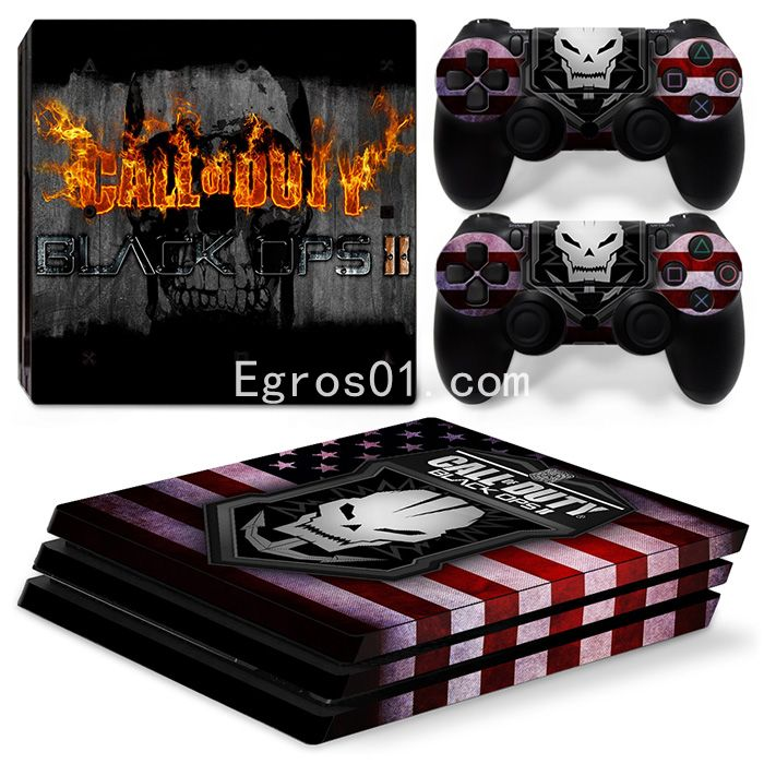 Skin PS4 Pro - Call of Duty MW3 Black OPS II 03
