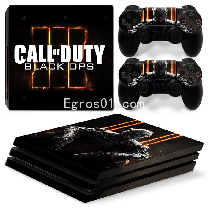 Skin PS4 Pro - Call of Duty MW3 Black OPS 02
