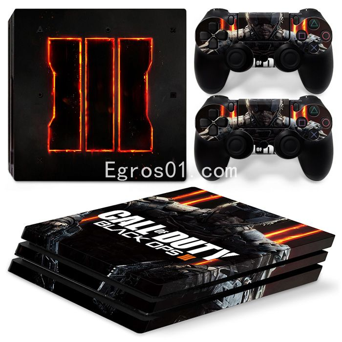 Skin PS4 Pro - Call of Duty MW3 Black OPS III 04